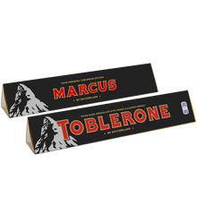 Load image into Gallery viewer, Personalised 360g Dark Chocolate Toblerone