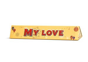 Limited Edition My Love Toblerone