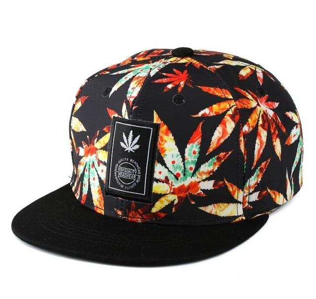Swag Bones Weed Mary Jane Snapback - Dope Clothes