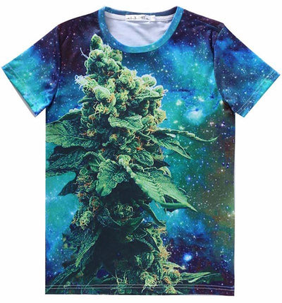 2017 Og-Kush Bud and Flower Sci-fi T-shirt 3 - Dope Clothes