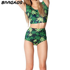 Fashion Summer Style Lovey Girls 420 Swimsuit - Dope Clothes