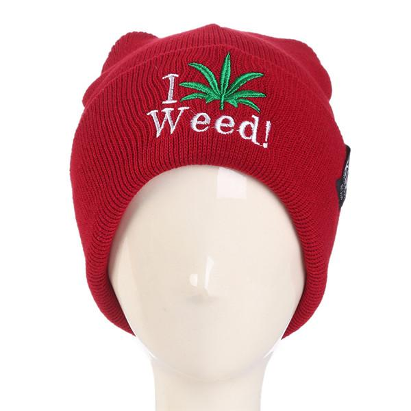Weed Leaf Hip Hop Winter Pull Down Beanie - Dope Clothes