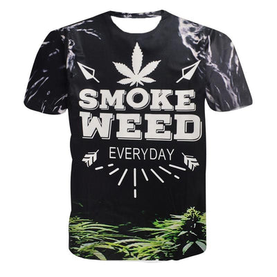 Casual smokers Smoke Weed Everyday T-Shirt - Dope Clothes