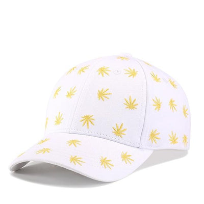 420 Weed Leaf Fashion Baseball Cap - Dope Clothes