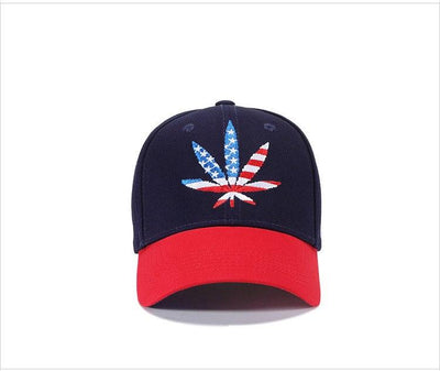 Murica Weed Leaf USA 420 Hat - Dope Clothes