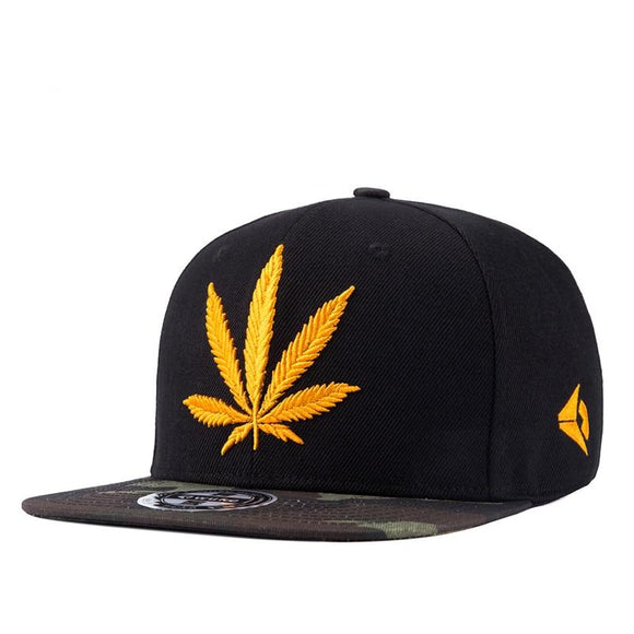 HIGH Quality Cotton Flat Bill Snapback Adjustable Hat - Dope Clothes