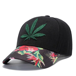 Weed 5 Panel Baseball Cap Snapback Weed  Hat - Dope Clothes