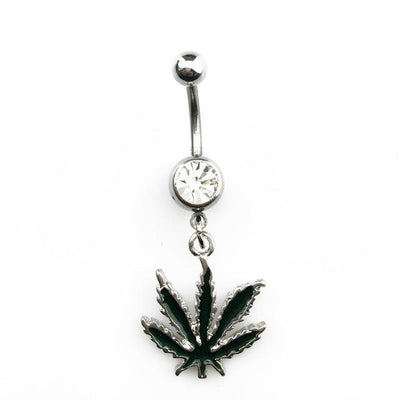 🌱👕 👖jewelry; $11.49 vs $11.49 BOG Sexy Jamaican Rasta Pot Leaf Belly Button Ring