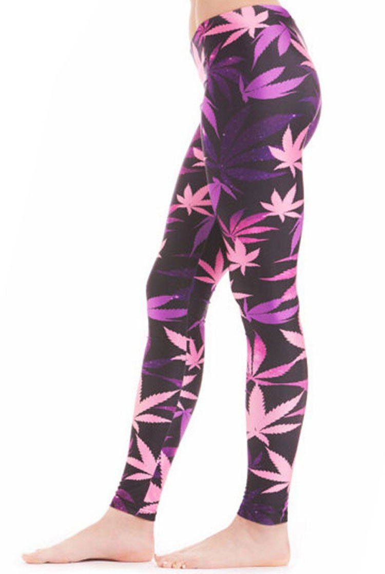 🌱👕 👖Pants; $16.47 vs $16.47 Weed Fashion 420 3D Digital Print Leggings