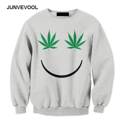 Weed Happy Face 420 Smiley Face Hoodies - Dope Clothes