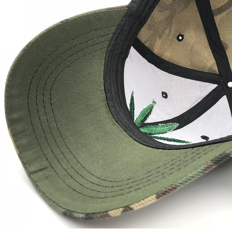 🌱👕 👖Hats; $12.39 vs $12.39 Camouflage Mens Marijuana Leaf Cap