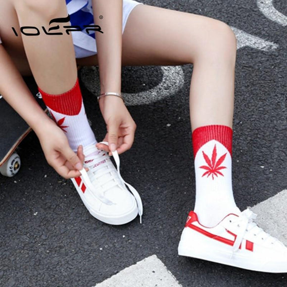 High Quality 5-Pairs 5 Color Pack Weed Marijuana Leaf Socks - Dope Clothes