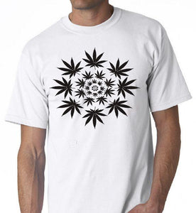 Psychedelic Spiral Trippy Weed Illusion T-shirt - Dope Clothes