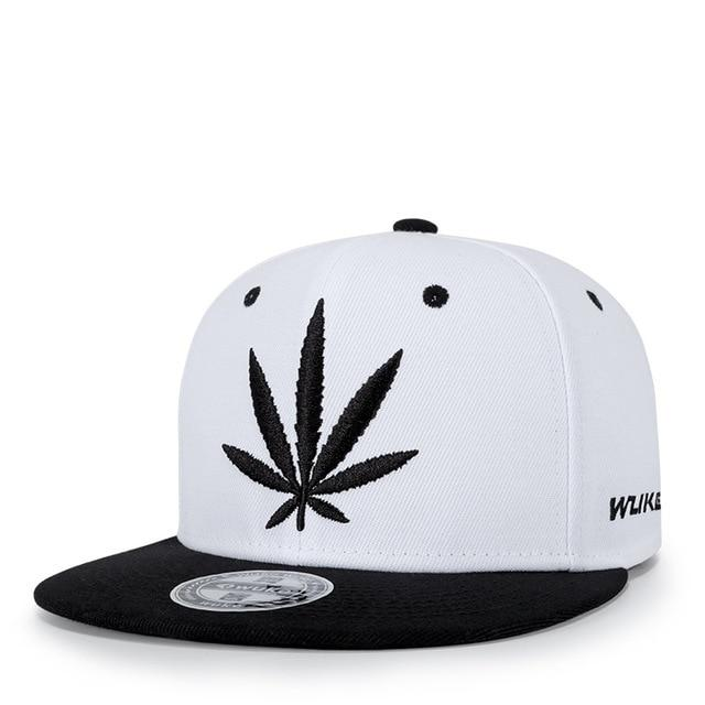 Streetwear New Weed Leaf Snapback - Dope Clothes