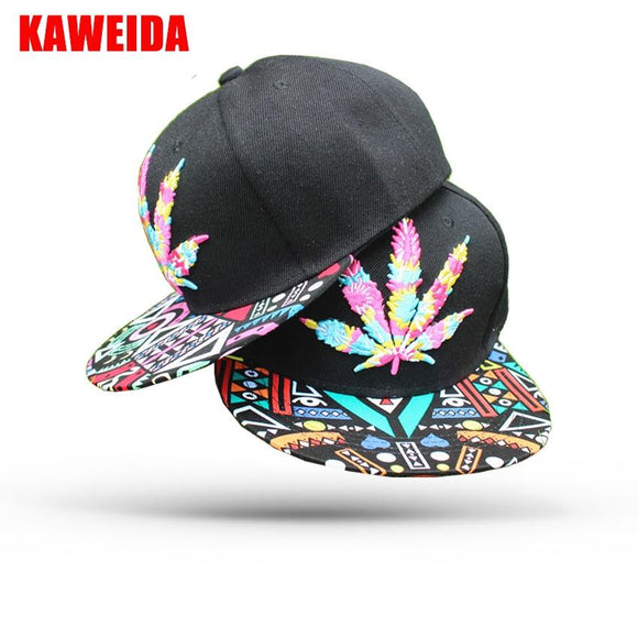 New Weed Supreme Hat 5 Panel Baseball Cap - Dope Clothes