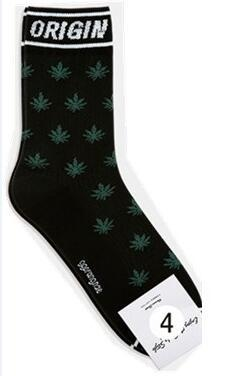 Weed Weed Leaf High Fashion Casual Weed Socks - Dope Clothes