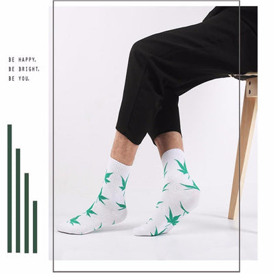 🌱👕 👖socks; $7.39 vs $7.39 Fashion Marijuana Leaf Fashion Weed Long Socks
