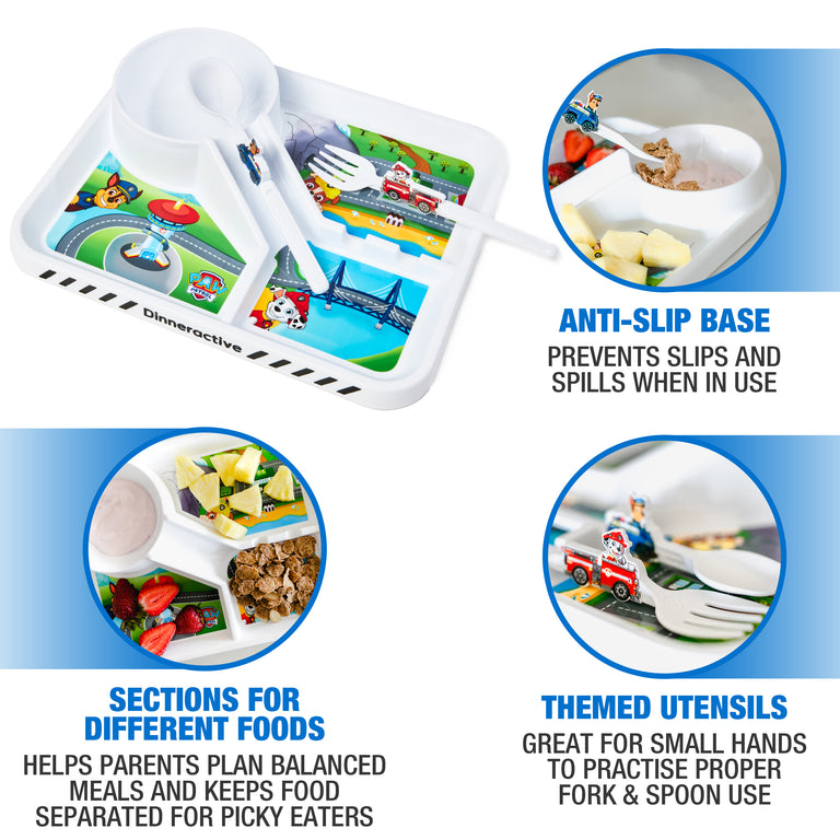 3-Piece PAW Patrol Themed Meal Set