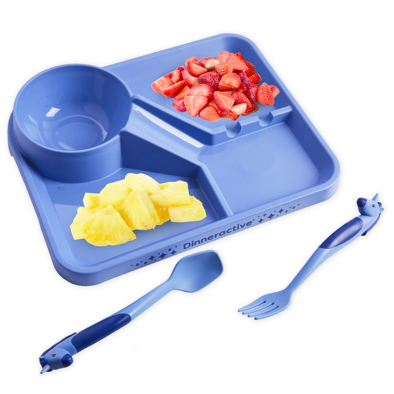 3-Piece Unicorn Themed Meal Set