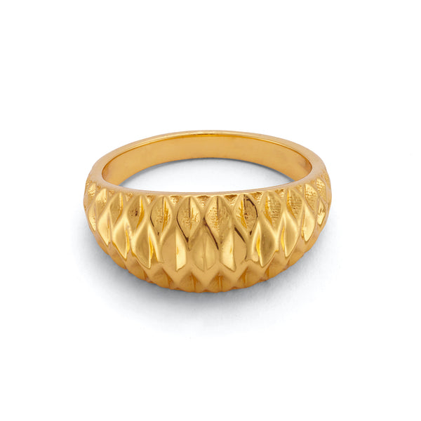 SUNCATCHER RING - 18 KARAT GOLD VERMEIL