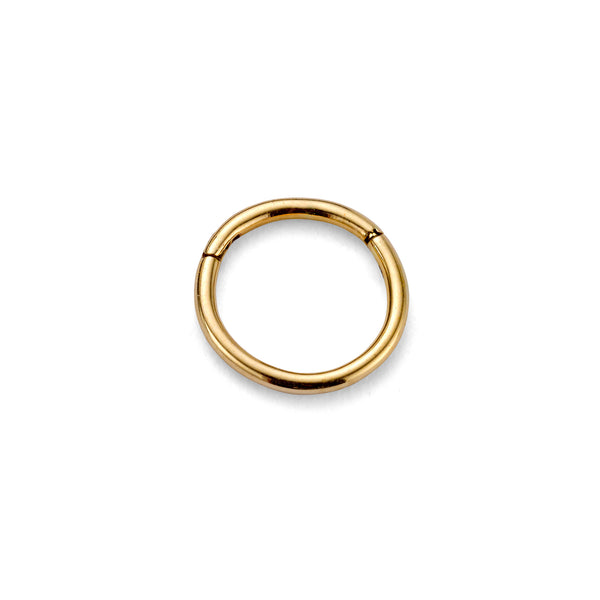 79 HOOP NOSE RING - 9 KARAT SOLID GOLD