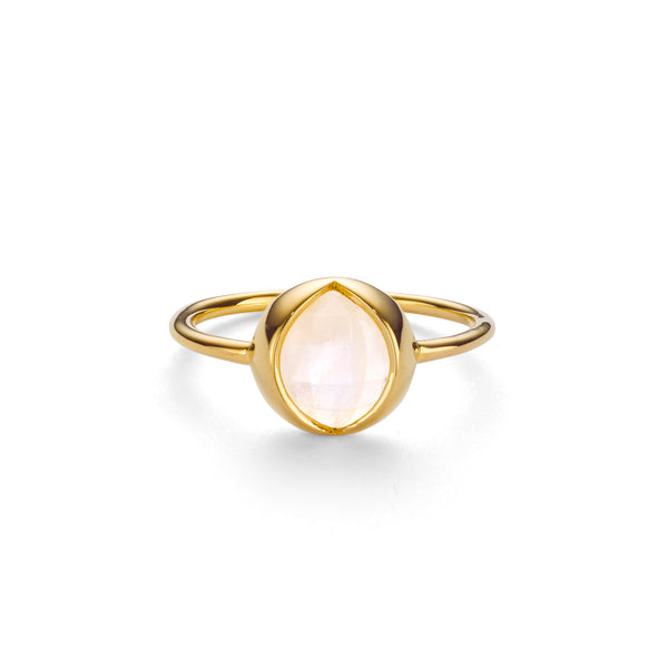 LUNE RAINBOW MOONSTONE RING