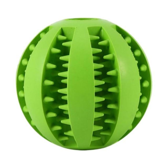 Entertain your PUP! Super Easy to Use Pet Rubber Ball