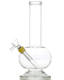 Smokin' Buddies Hexagon Base Bubble Beaker Water Pipe - Left Detailed View