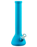 Nucleus Silicone Beaker Water Pipe - Blue
