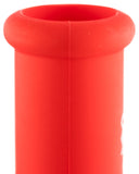 "Nucleus 10"" Silicone Straight Tube Water Pipe - Flared Mouthpiece"