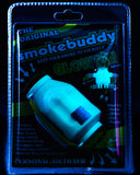 The Original SmokeBuddy Blue Glow LIT