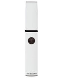 The Kind Pen V2.W Concentrate Vaporizer Kit - White in Standing Upright Position