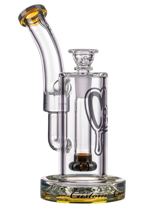C2 Custom Creations Fixed Showerhead Downstem Perc Bubbler Water Pipe