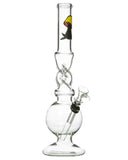 "Smokin' Buddies 10"" Twist Water Pipe Profile View"