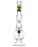 "Smokin' Buddies 10"" Twist Water Pipe Front View"