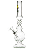 "Smokin' Buddies 10"" Twist Water Pipe Left View"