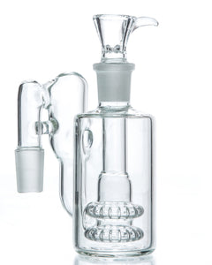 DankStop - 90˚ Double Showerhead Perc Recycler Ashcatcher