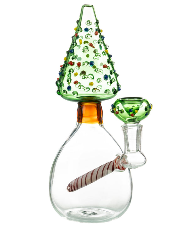 Smokin' Buddies Christmas Tree Water Pipe