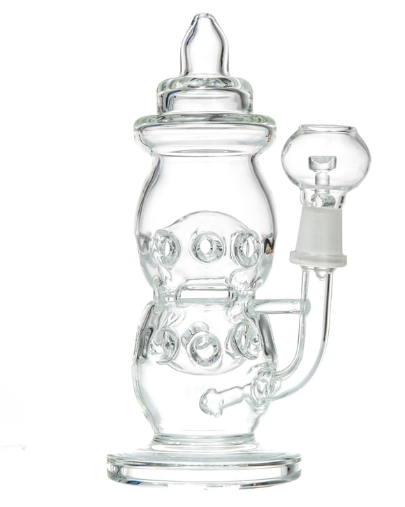 Smokin' Buddies - Clear Baby Bottle Dab Rig
