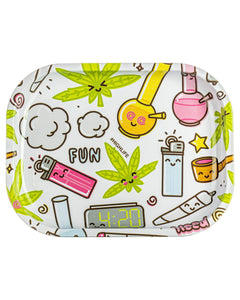 Smokin' Buddies Cute Rolling Tray