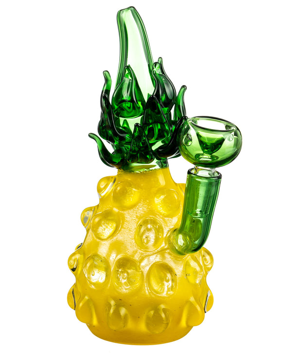 Smokin' Buddies Yellow Funky Pineapple Water Pipe