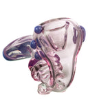 Pink Sherlock Pipe with Purple Accents