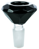 Smokin' Buddies Diamond Bowl - Black, Detailed View