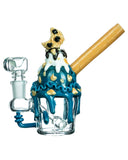 Check Out the Cookie Monster Sundae Mini Bong from Empire Glassworks