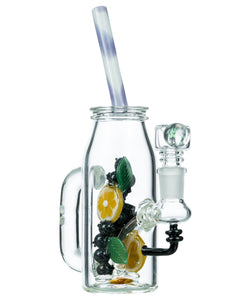 Empire Glassworks Fruity Detox Water Pipe - Side View
