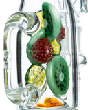 Empire Glassworks Fruity Detox Water Pipe - Worked Glass Close Up