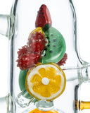 Empire Glassworks Fruity Detox Water Pipe - Worked Glass Fruit Close Up