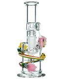 Empire Glassworks Land of Ooo Mini Water Pipe - Front View