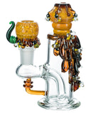Empire Glassworks Mini Beehive Water Pipe - Left View
