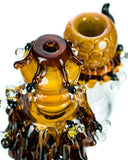 Empire Glassworks Mini Beehive Water Pipe - Mouthpiece & Bowl
